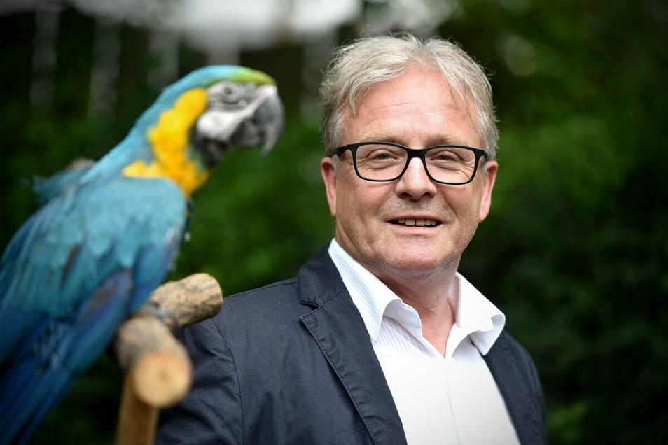 Nach 34 Jahren hat sich Bernd Großer im Sommer als Tierpark-Direktor verabschiedet. Doch auch im Ruhestand bleibt er weiter engagiert.