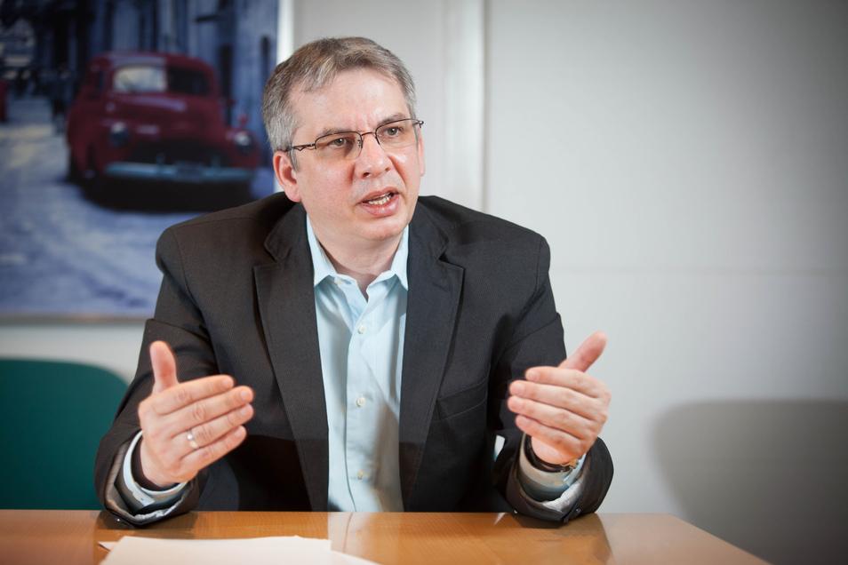 Amtsarzt Jens Heimann leitet das Dresdner Gesundheitsamt.