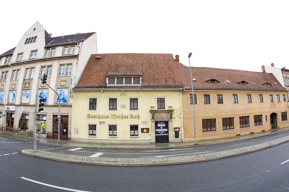Es gibt Pläne für den Gasthof Weißes Roß. Die Gaststätte hieß früher Volkshaus.