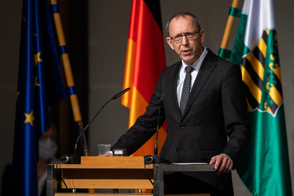 Sachsens AfD-Vorsitzender Jörg Urban spricht sich für Finanzhilfen für Kommunen in der Corona-Krise aus.