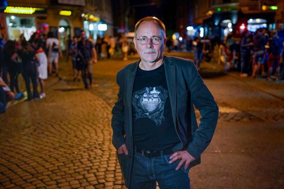 Stadtbezirksamtsleiter André Barth ist für die Maßnahmen an der Neustadt-Kreuzung verantwortlich.