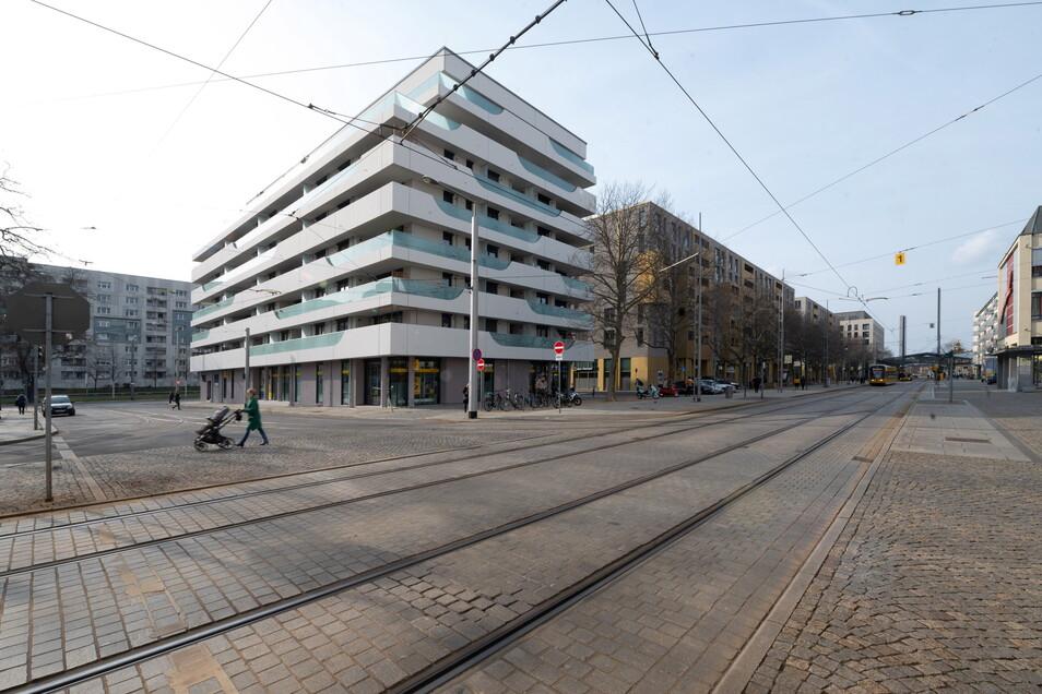 Das war der erste Neubau, der am Postplatz nach 2015 entstand.