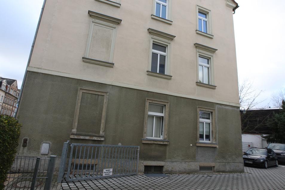 Haus Hauptstraße 7 in Copitz: Im ersten OG liegt die Wohnung von Thomas Mache.