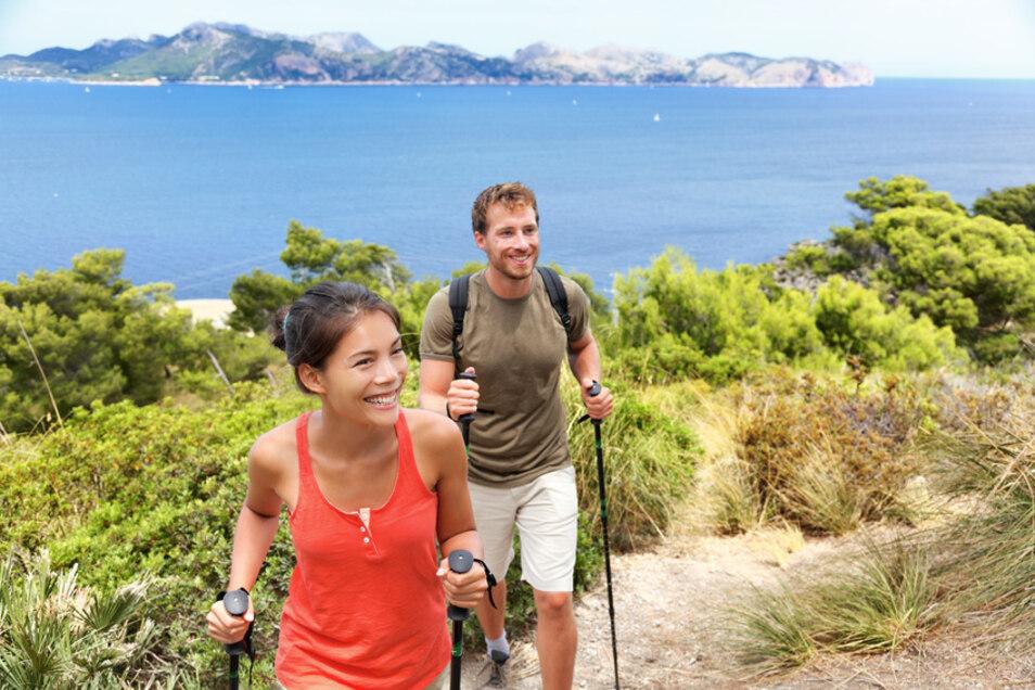 Wanderfreude auf Mallorca.