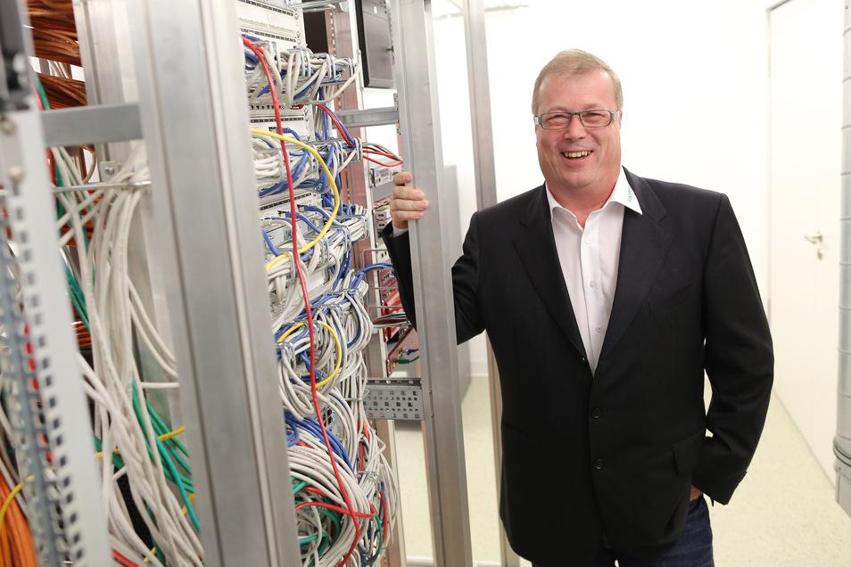 Torsten Schlegel, Geschäftsführer der ErgoData, kann sich über das 30-jährige Bestehen seiner Firma freuen.