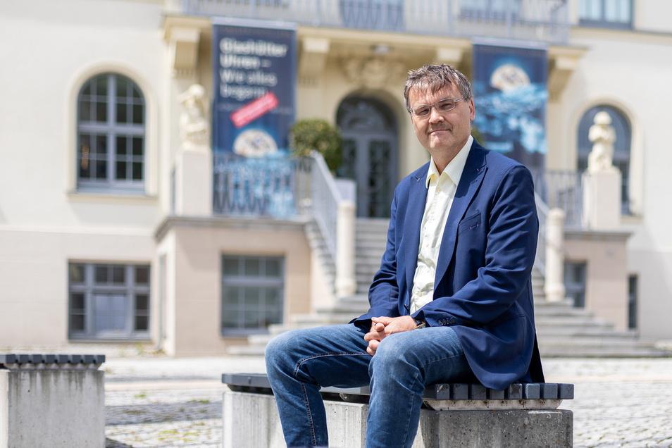 Steffen Barthel wollte bis vor Kurzem noch Bürgermeister in Glashütte werden. Nun nicht mehr.