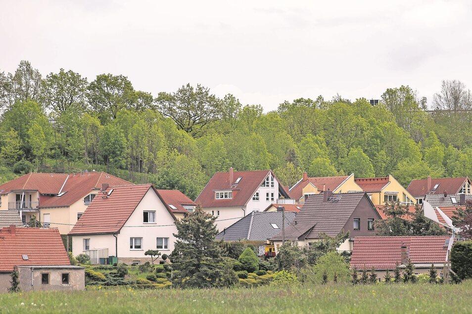 So beschaulich liegt das Dorf Dohma vor den Toren von Pirna.