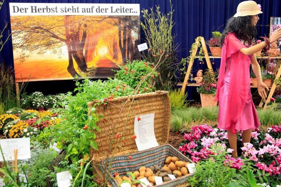 Blumenhalle: Erinnerung an die Landesgartenschau 2012.