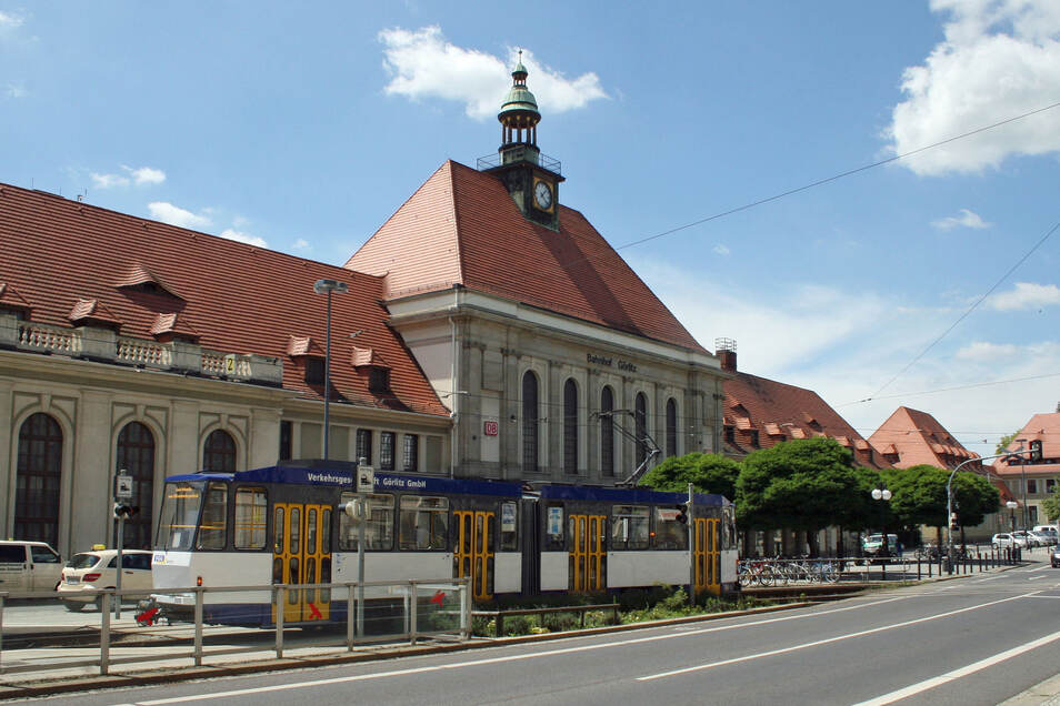 Blick auf den Görlitzer Bahnhof, wo der Mann gefasst werden konnte.