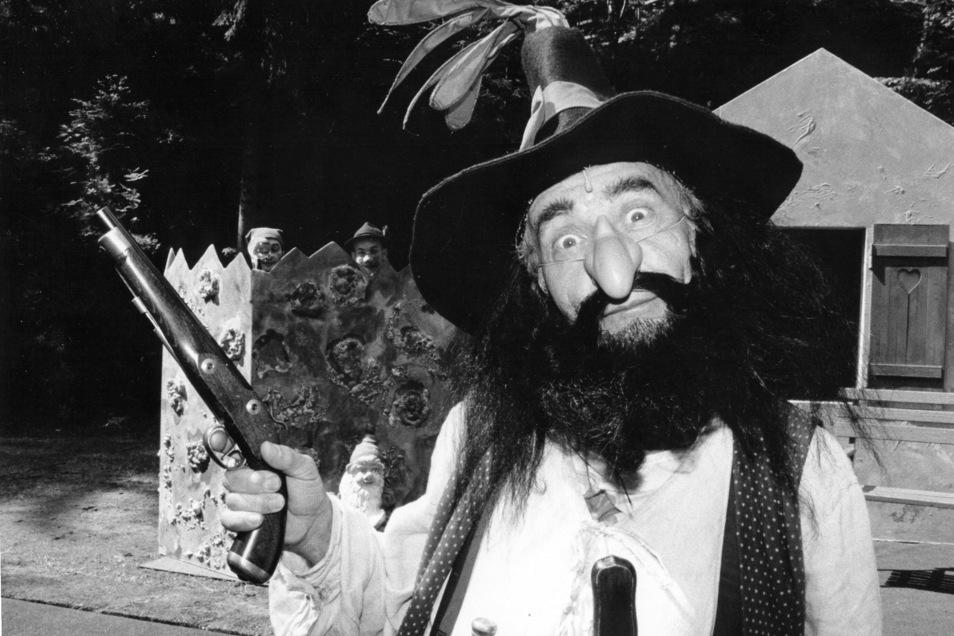 """Auf der Waldbühne Jonsdorf war er auch als """"Räuber Hotzenplotz"""" zu erleben."""
