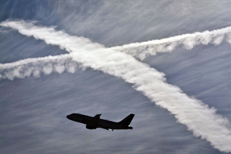 Verursacht auch CO2: Luftverkehr.