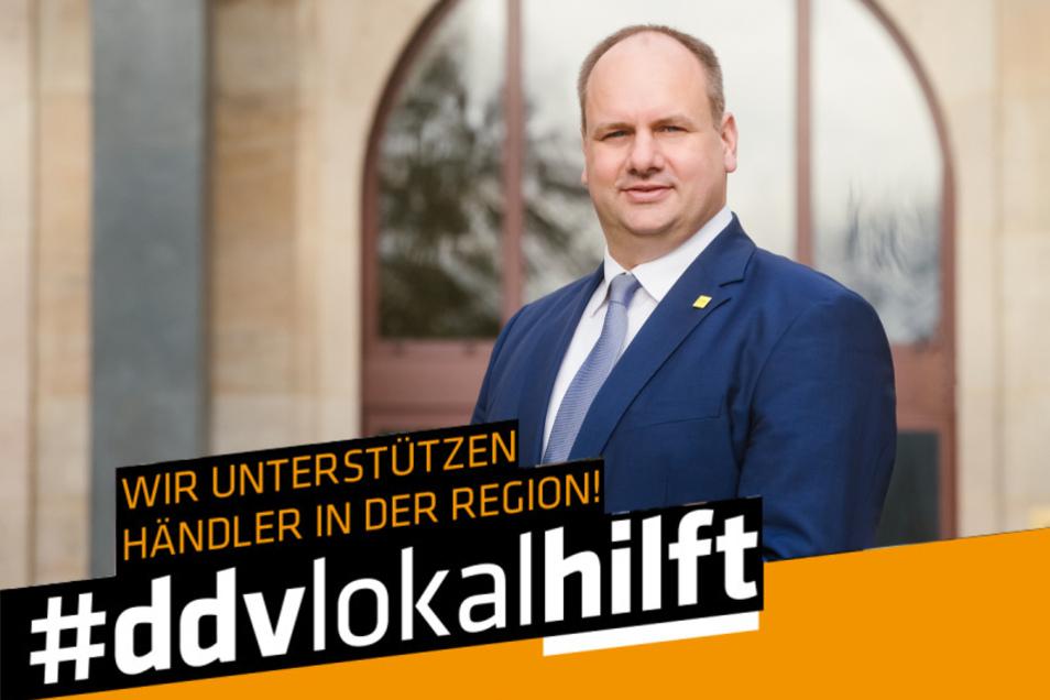 Dirk Hilbert, Oberbürgermeister der Landeshauptstadt Dresden