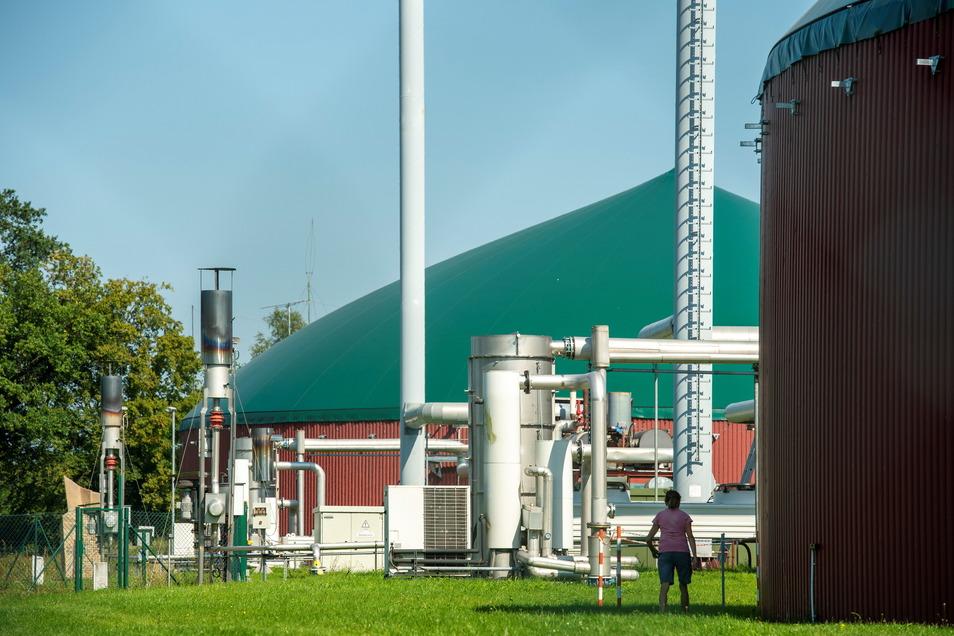 Die Biogasanlagen am Flugplatz in Großenhain sollen eine neue Anlage erhalten.