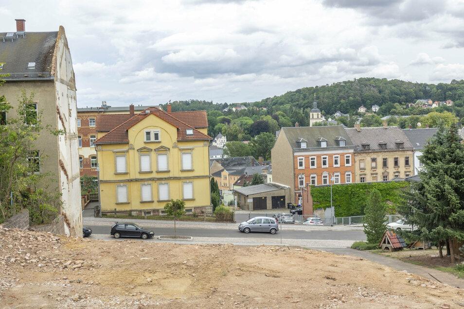 Vom Vereinshof an der Breitscheidstraße 11 in Waldheim ist nichts mehr übrig.