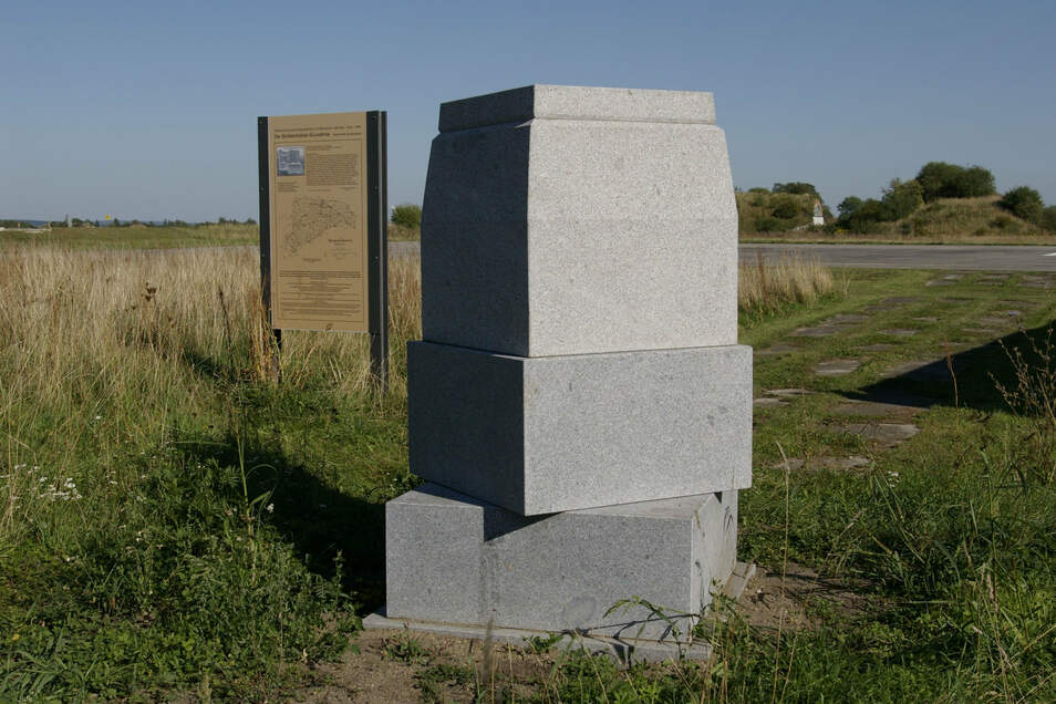 So sah die Basismitte auf dem Flugplatz noch aus, als sie neu angelegt wurde.