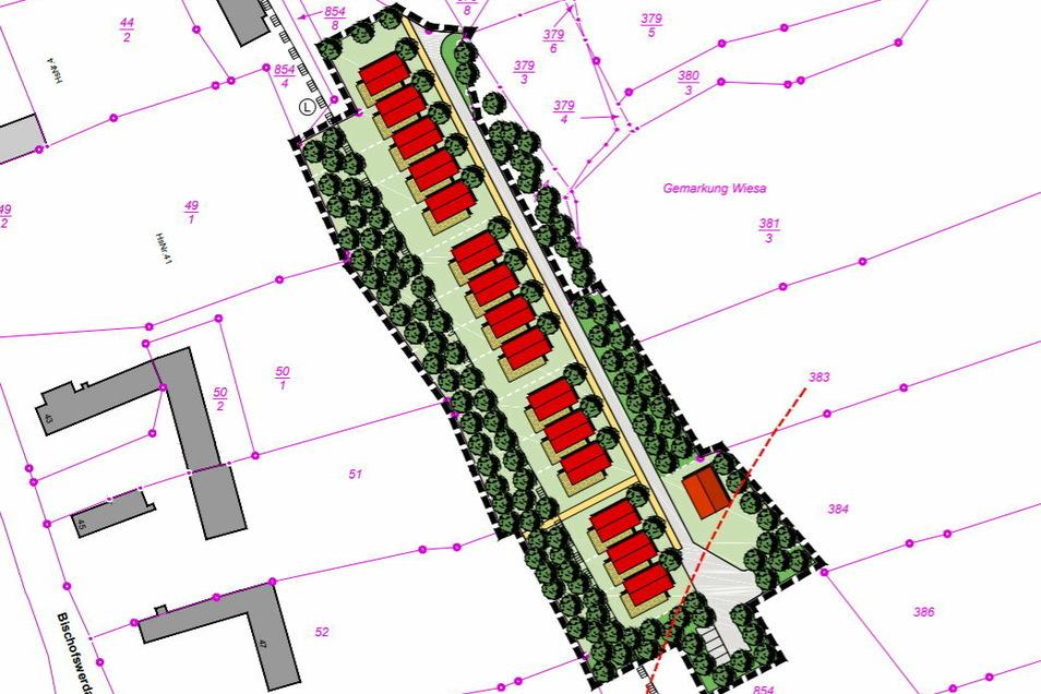 Auf dem Gelände des ehemaligen Wiesaer Bahnhofes soll in den nächsten Jahren ein neuer Eigenheimstandort für die Stadt Kamenz entwickelt werden.