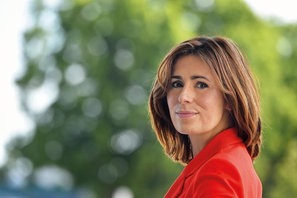 Patricia Wissel (CDU) aus Neukirch/Lausitz ist Mitglied des Sächsischen Landtages und Schirmherrin der Regionalliga-Frauenmannschaft des .Bischofswerdaer FV 08.