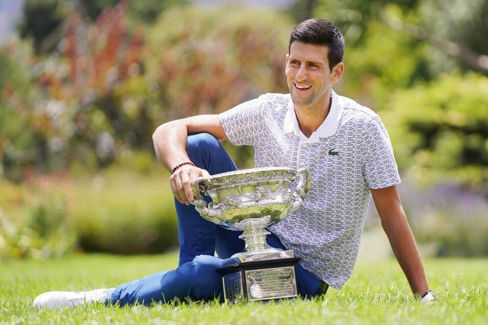 Novak Djokovic aus Serbien ist die Nummer eins der Tennis-Welt.