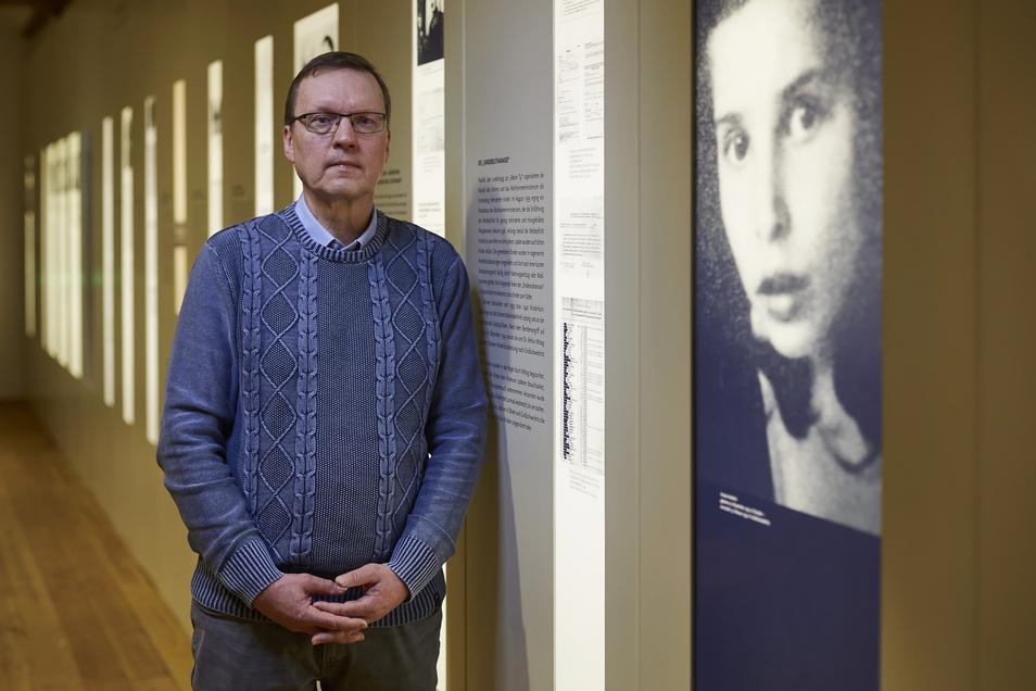 Gedenkstätte Pirna-Sonnenstein, Leiter Dr. Boris Böhm: Den Opfern einen Namen geben.