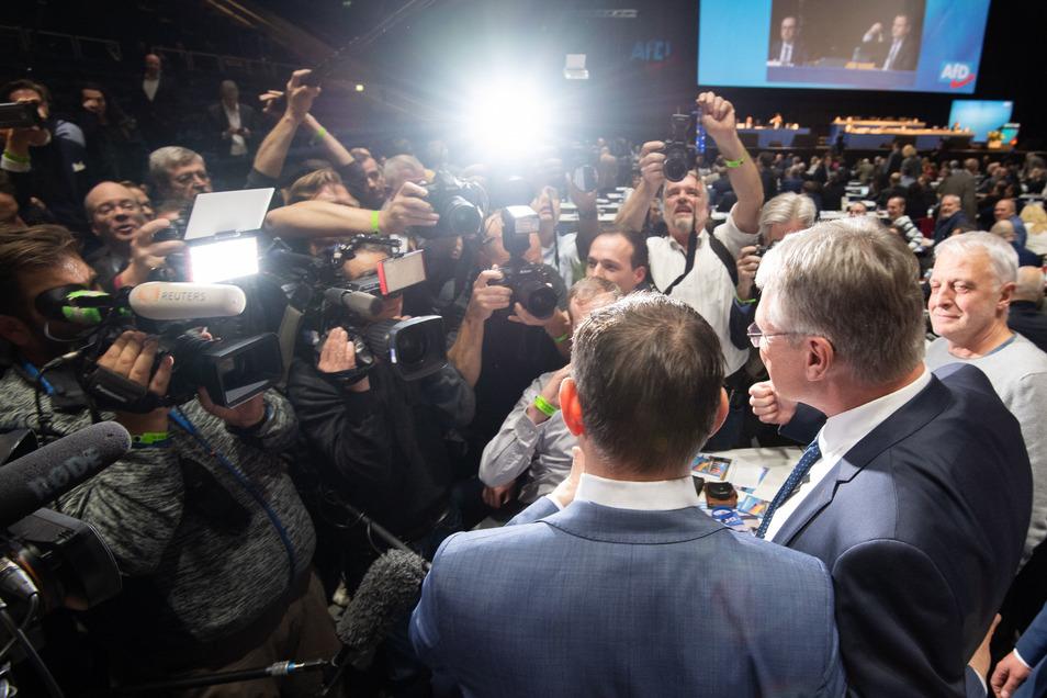 Chrupallas bisher größter Triumph: Am 30. November 2019 wurde er neben Jörg Meuthen zum Bundeschef der AfD gewählt.