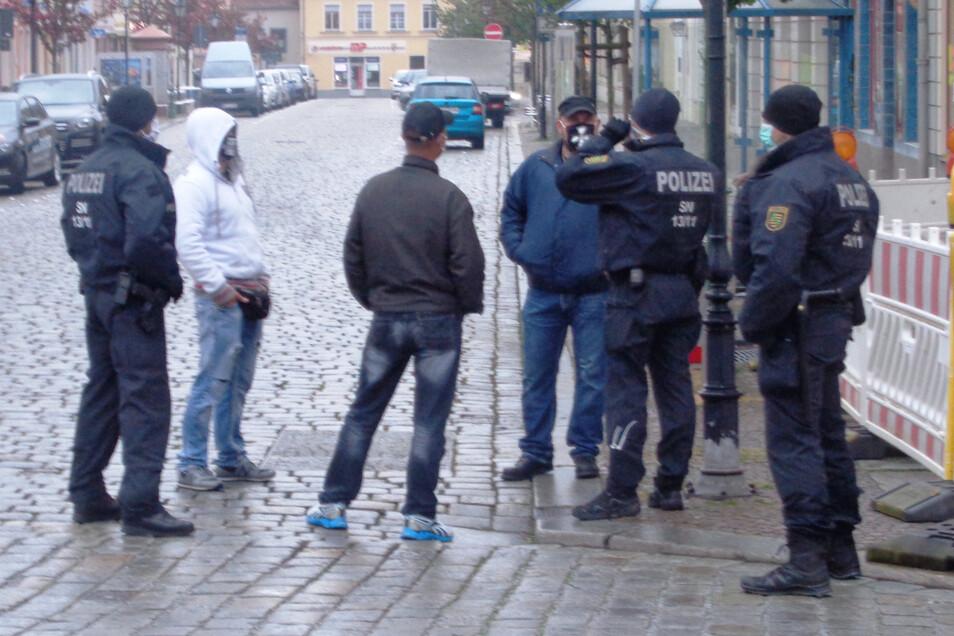 Die Polizei setzte auf Kommunikation. Das war zum Teil nicht ganz einfach.