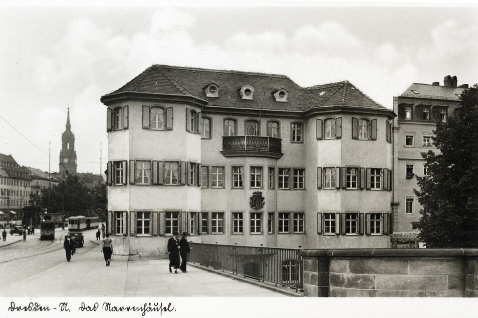 So sah das Narrenhäusel um 1935 aus.