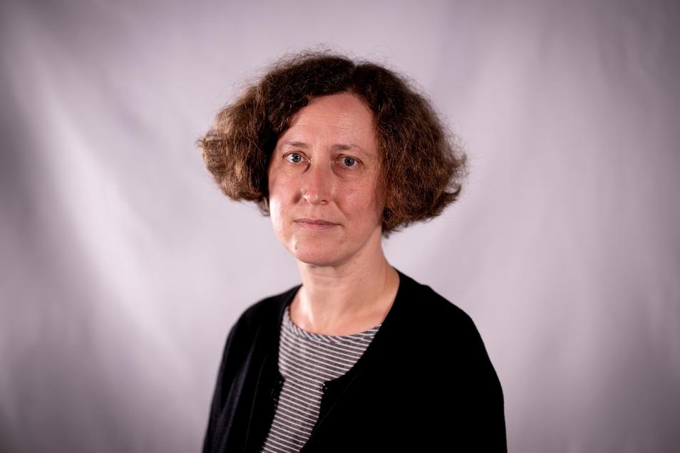 Kandidatin für das Superintendenten-Amt im Kirchenbezirk Pirna: die Theologin Brigitte Lammert.