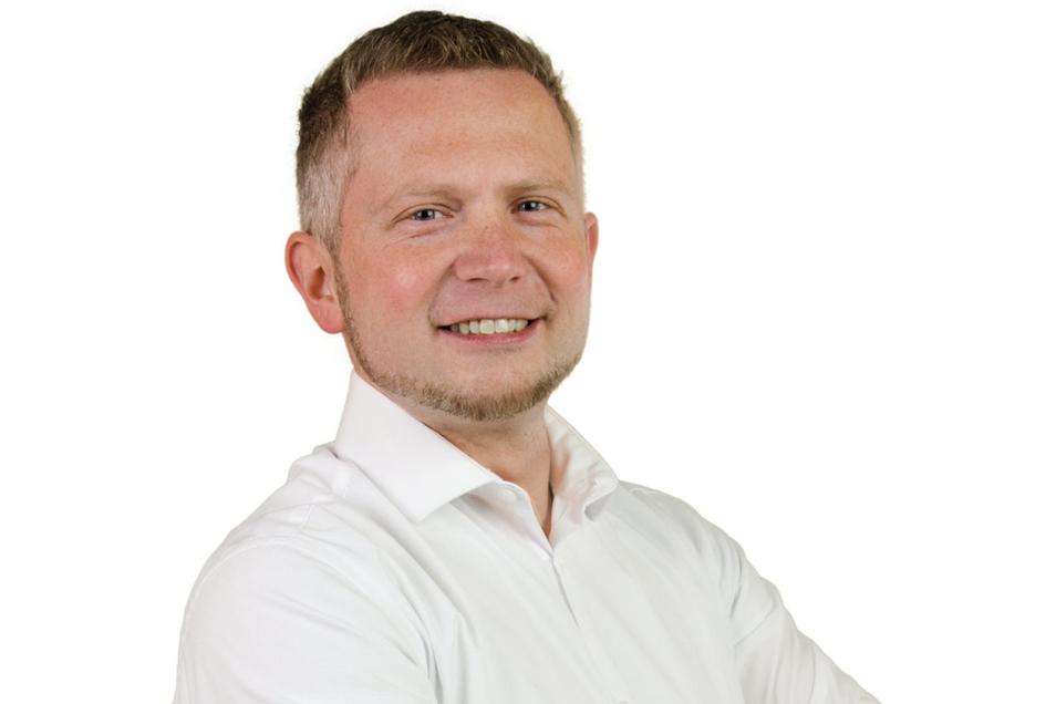 Thomas Vogt aus Zauckerode ist 2. Vorstandsvorsitzender der Freien Wähler Freital.