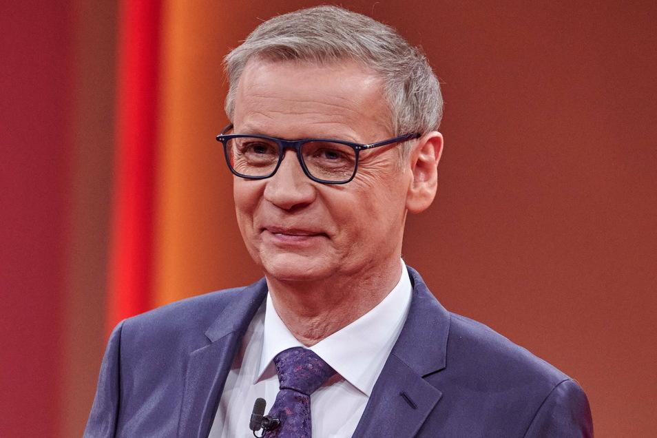 """""""Wer wird Millionär""""-Moderator Günther Jauch s"""
