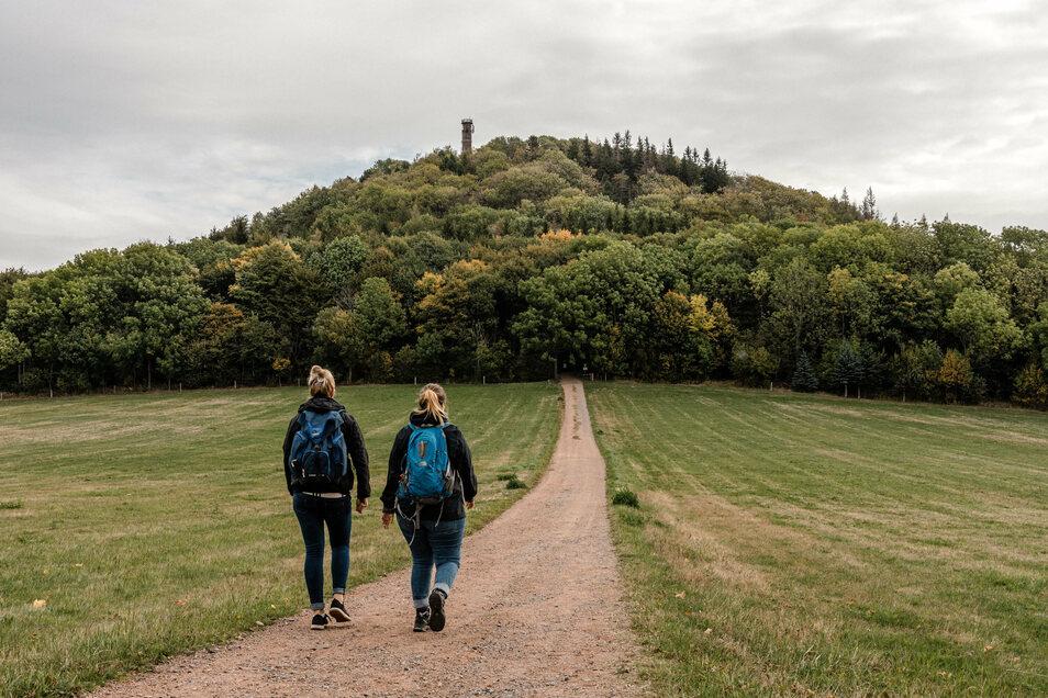 Der Geisingberg liegt bei einigen Wanderungen auf der Strecke.