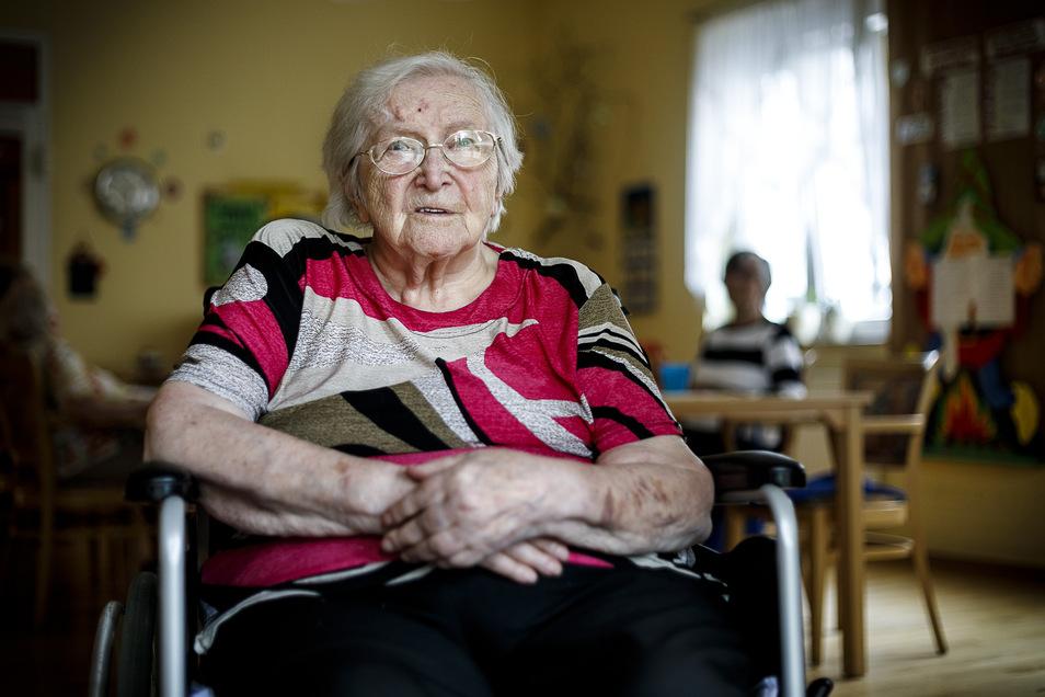 Lotte Schulze wird am Sonnabend 106 Jahre alt.