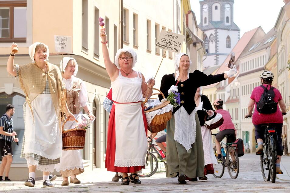 Meißens Stadtführerinnen wissen um die Anziehungskraft ihrer Stadt. Sie sind wieder mit Gästen unterwegs. Die ARD hat jetzt dafür gesorgt, dass die Porzellanstadt noch bekannter wird.