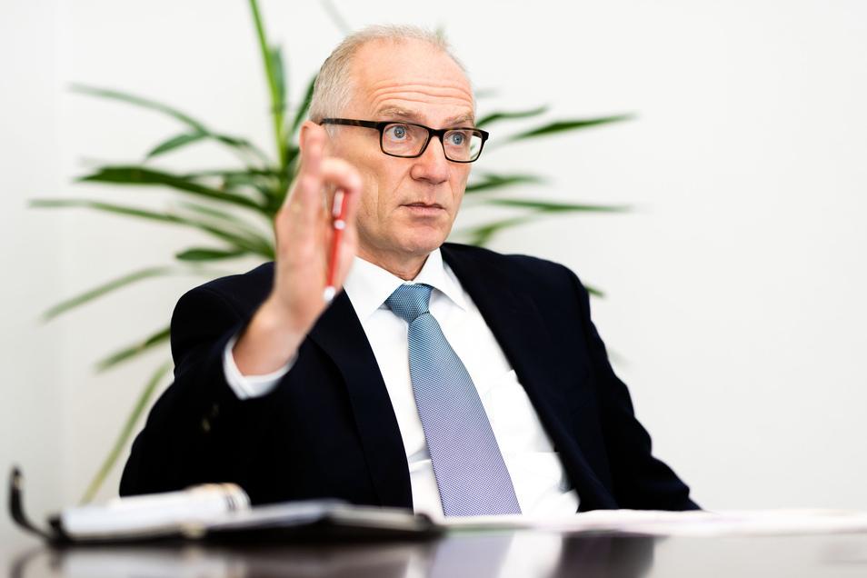 CDU-Fraktionschef im Kreistag Mike Ruckh: Durch Steuerausfälle werden den Kommunen viele Millionen Euro fehlen.