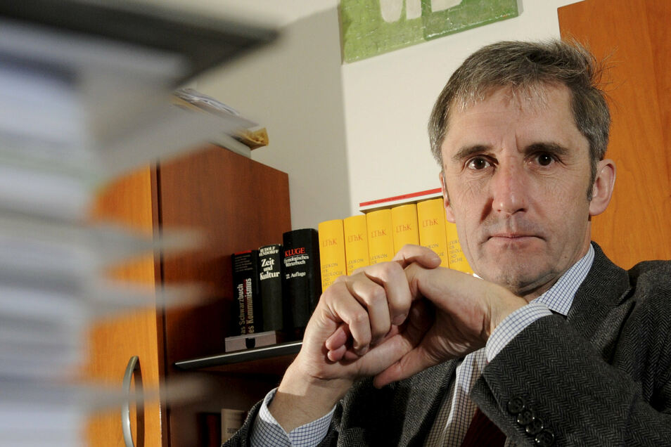 Ein erfahrener Polit-Profi: Frank Richter aus Meißen, der für die SPD im Landtag sitzt, bringt ein strittiges Thema in den Wahlkampf.