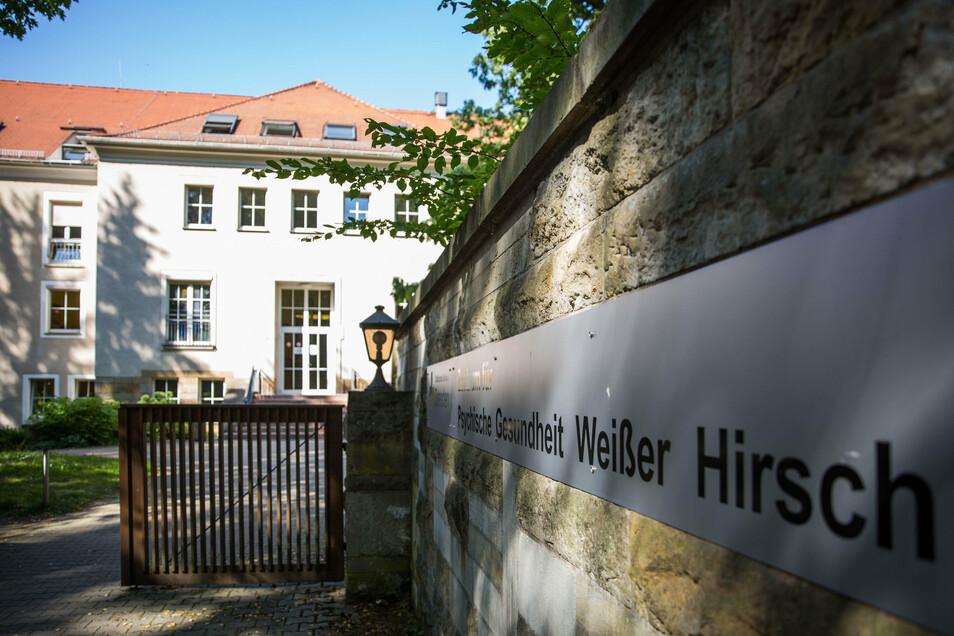 Das Zentrum für Psychische Gesundheit auf dem Weißen Hirsch in Dresden.