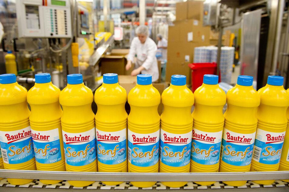 Eine der bekanntesten Marken aus Sachsen ist der Bautzner Senf.