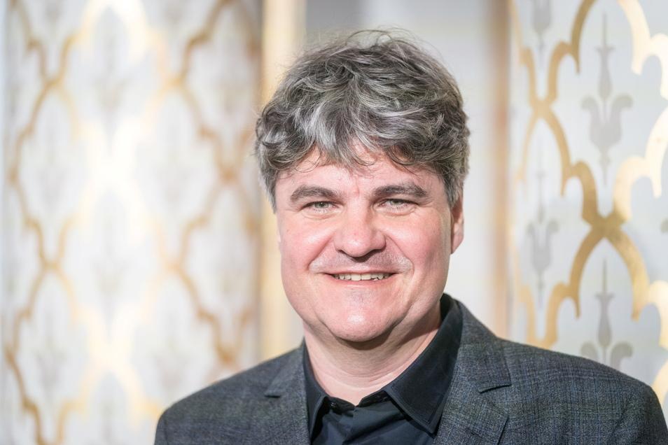 """Markus Rindt, Intendant der Dresdner Sinfoniker, will die """"Elbkarawane"""" gern zu einer festen Institution machen."""