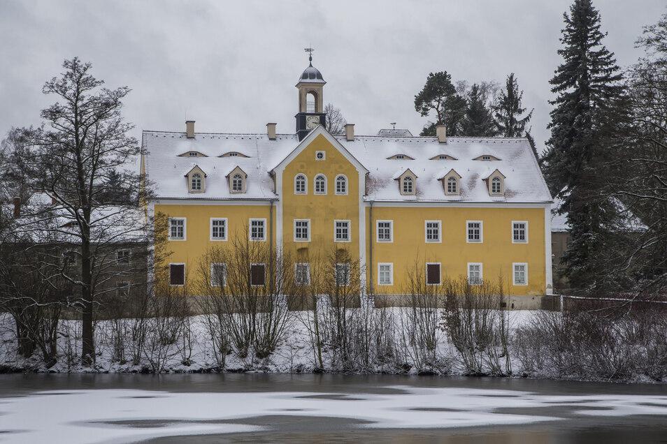 Noch steht das Jagdschloss im Tharandter Wald leer. Die TU Dresden will das ändern.
