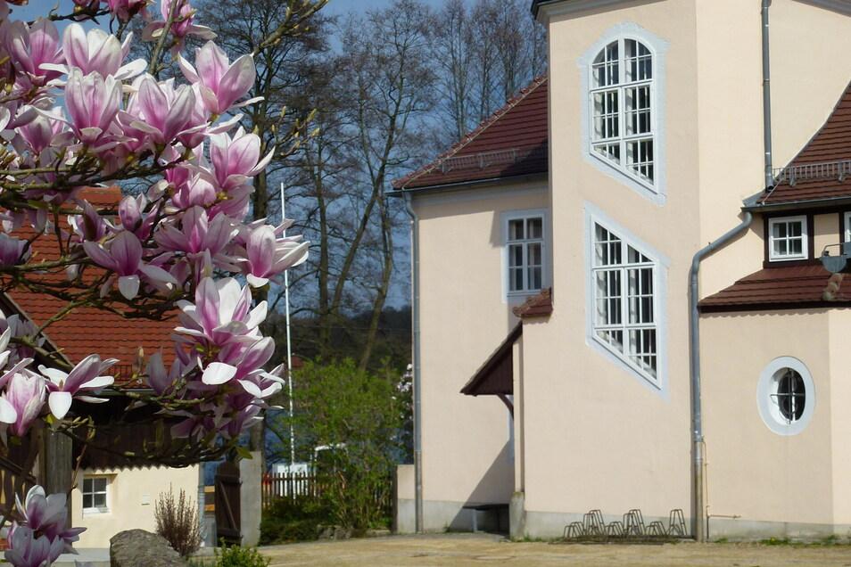 Im Moritzburger Rüdenhof verbrachte Käthe Kollwitz ihr Lebensende, hier starb sie. Heute ist das Haus Gedenkstätte und Museum.