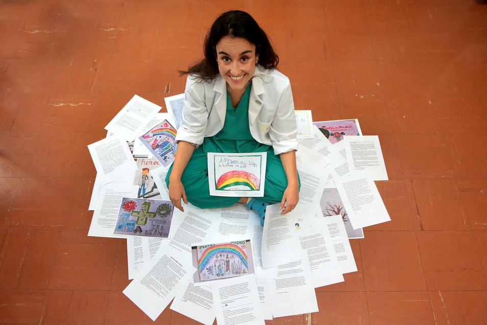 De spanische Ärztin Cristina Marin Camposerhält den Dresdner Friedenspreis.