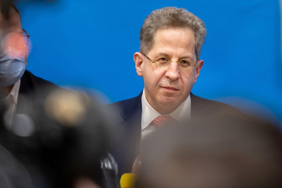 Hans-Georg Maaßen kandidiert bei der Wahl am 26. September in einem Südthüringer Wahlkreis für den Bundestag.
