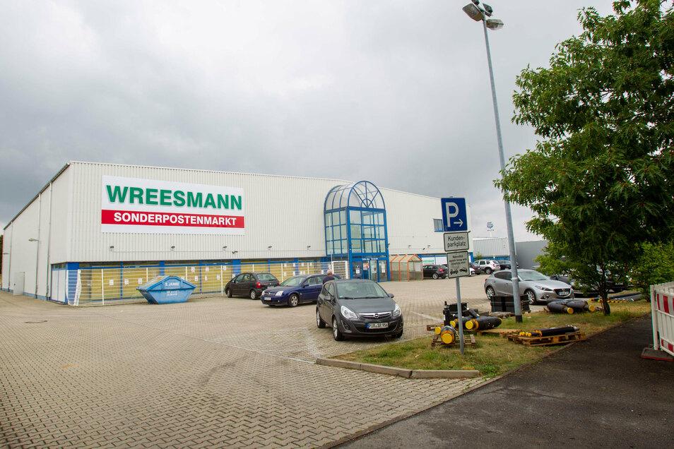 Neues Konzept nach Komplettumbau: Wreesmann-Filiale auf dem Pirnaer Sonnenstein.