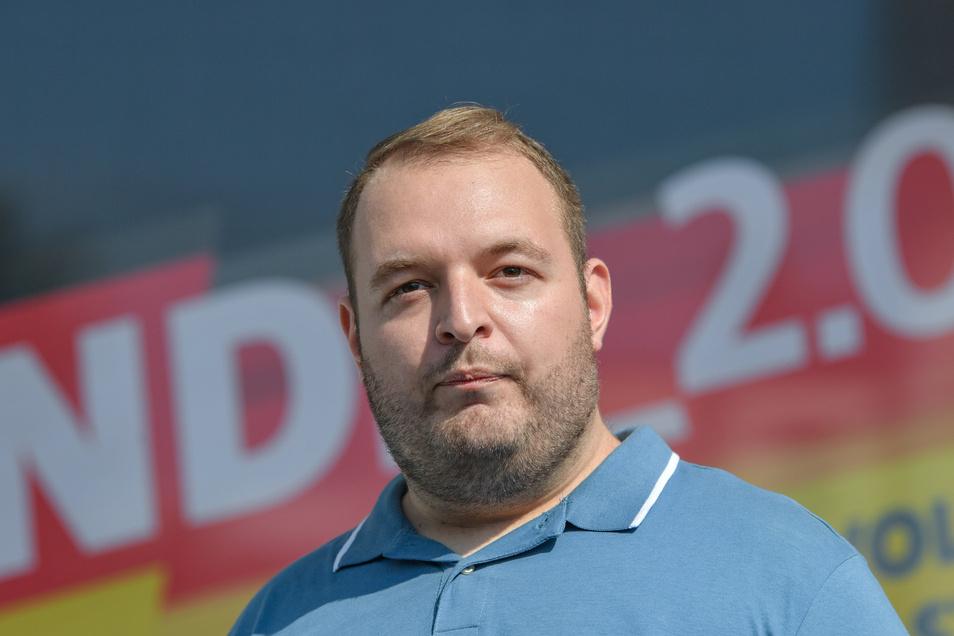 Damian Lohr, Bundesvorsitzender der AfD-Jugendorganisation Junge Alternative (JA), nimmt künftig als kooptiertes Mitglied ohne Stimmrecht an den Konferenzen des AfD-Bundesvorstandes teil.