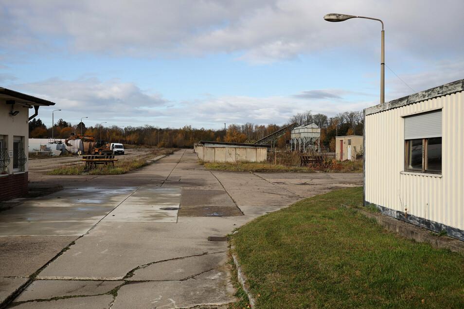 Bis vor einigen Monaten waren auf dem Gelände an der Rostocker Straße noch Kohlen zu bekommen. Jetzt gehört es den Stadtwerken, die dort in absehbarer Zeit einen Solarpark bauen wollen.