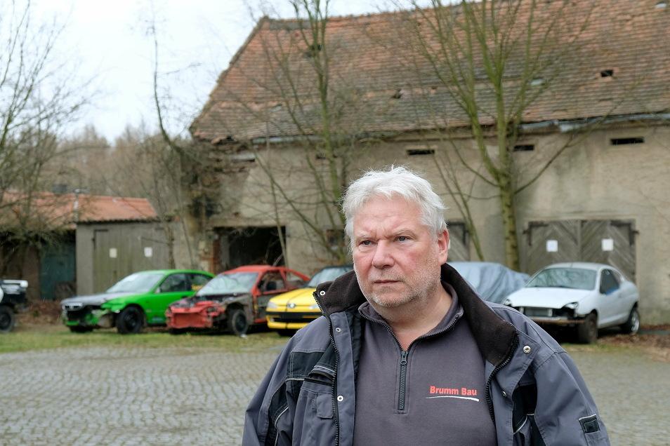 Ingolf Brumm ist Bauunternehmer und Stadtrat in Meißen.