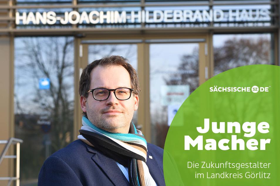 Professor Alexander Kratzsch ist seit März Rektor der Hochschule Zittau/Görlitz. Vor einem Jahr hatte ihn der Senat in dieses Amt gewählt