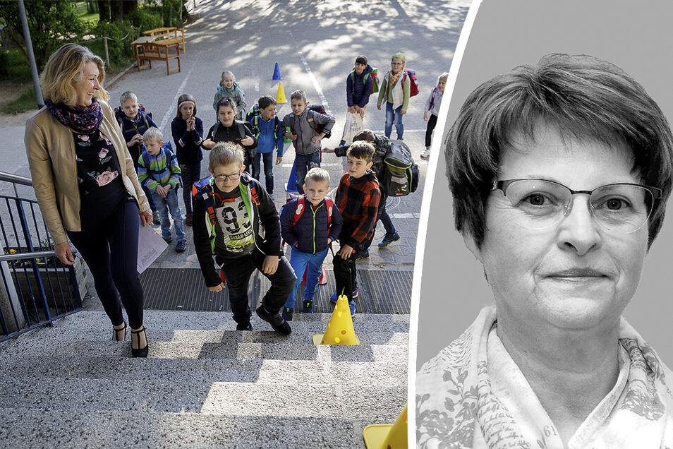 Die Fortführung des Schuljahres kommentiert Gabriela Lachnit.