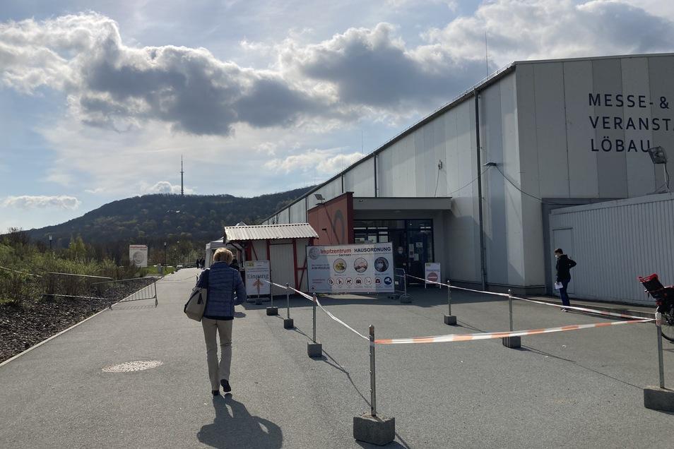 Das Impfzentrum Löbau ist stets gut frequentiert - aber wie viele Kunden kommen gar nicht aus dem Kreis Görlitz?