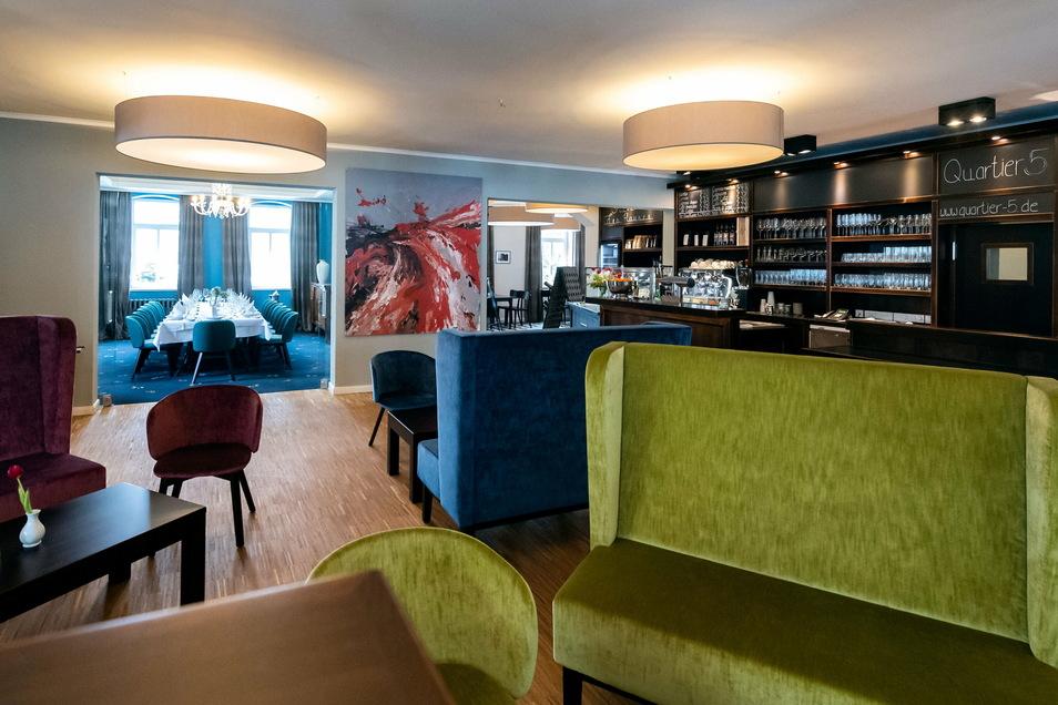 Im Quartier 5 in Gohrisch gibt es jetzt fünf ganz unterschiedliche Raumkonzepte.