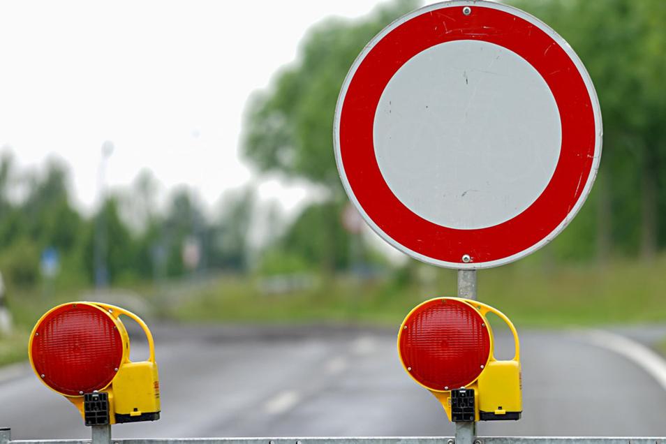 Durchfahrt verboten: Wegen einer Reparatur wird der Waldschlößchen-Tunnel gesperrt.